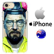 iPhone Case Cover Silicone Cool Tv Breaking Bad Artistic Abstract Walter White A