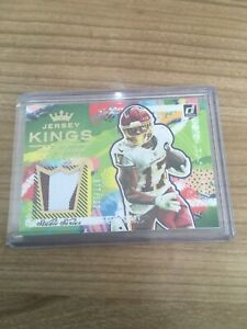TERRY McLAURIN 2021 DONRUSS JERSEY KINGS /100 DUAL-COLOR PATCH STUDIO SERIES