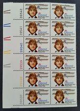 SCOTT #C99: BLANCHE S. SCOTT AIRMAIL STAMP (28c, 1980) Plate # strip of 12, MNH