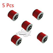 5x Oil Filter For Yamaha XV1100 XV750 XC200 XV250 XV920 XZ550 XT500 TT500 TT250