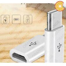 Adattatore micro USB a Type C syncro dati e ricarica