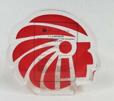 RARE 1990'S AMERICAN BRANDS INC. LUCITE  INDIAN HEAD BILLION $ CURRENCY COMMEMOR