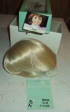 Mini World Doll Wig Doreen 14 TO 15 INCH PL BLONDE