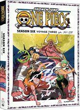 One Piece Season 6 Series Six Voyage Three 3 Region 1 New DVD
