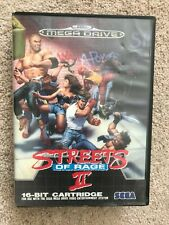 Streets Of Rage 2 Sega Megadrive game - UK PAL - used acceptable BOXED