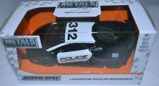 JADA 1/32 Hyper Spec Lamborghini Huracan Performente Police Car Diecast