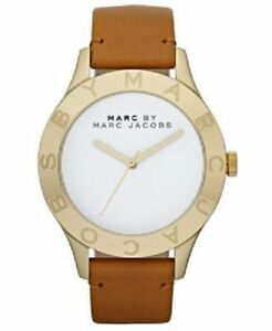 New Marc by Marc Jacobs MBM1218 Womens Leather Strap Watch - UK Seller