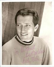 "Singer Andy Williams 8"" x 10"" B&W Photo Signed w/ COA"
