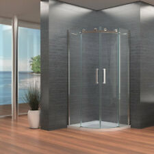 8mm Luxury Frameless Quadrant Shower Enclosure Magnetic Handle Easy Clean Glass