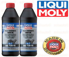 Liqui Moly Fully Synthetic Gear Oil 75w90    2-Liters 2048 Porsche BMW