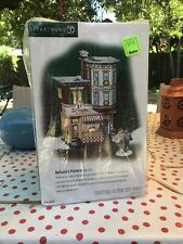 """Department 56 """"DeFazio's Pizzeria"""" Christmas In The City Series Brand New"""
