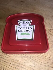 Heinz Official Merchandise Tomato Ketchup Sandwich Box RETRO