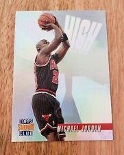 1996-97 High Risers EMBOSSED REFRACTOR Michael Jordan  #HR14