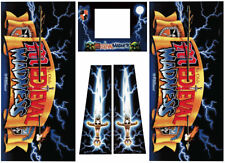 Medieval Madness Pinball Machine Cabinet Decals  - NEXT GEN - LICENSED