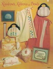 Rainbows Ribbons & Bows Book 7 1981 Cross Stitch & Needlepoint from Rainbows Inc