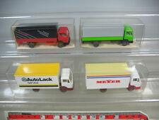 K898-0,5# 4x Wiking HO LKW Mercedes 431 Impocolor, 436 Meyer, AutoLack TOP+2xOVP