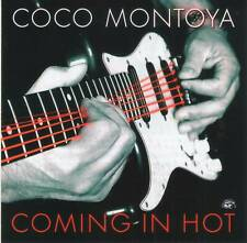 COCO MONTOYA - COMING IN HOT (2019) Modern Electric Blues CD Jewel Case+GIFT