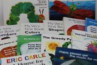 Lot of 12 Eric Carle Board Books for Children's/ Kids/ Toddler *Random Mix*