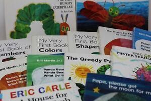 Lot of 5 Eric Carle Board Books for Children's/ Kids/ Toddler *Random Mix*