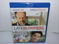 Late Bloomers (Blu-ray, Canadian, Region A, 2013, Hurt, Rossellini) NEW