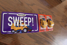 Matchbox Sweep Book Elgin Street Sweepers 2 different wheel variations
