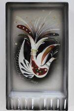 Vintage Sascha Brastoff White Dove Rectangular Grey Ashtray Mid Century Modern