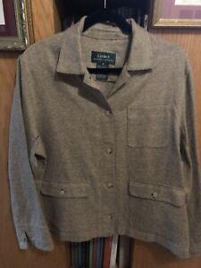 LKNU silk linen wool light  tweed jacket Ralph Lauren, 16 XL