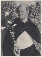 D1986 Giovanni Martini - San Domenico - Stampa d'epoca - 1936 vintage print