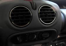 D Renault Twingo Chrom Ringe für Lüftungsschacht - Edelstahl poliert