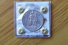 MONETA CITTA' DEL VATICANO PIO XI 10 LIRE 1932 sigillata SPL+ SUBALPINA