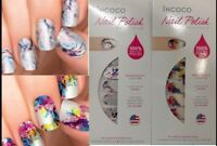 2 pk INCOCO Nail Polish APPLIQUE 16 strips ea MASTERPIECE and CHEMISTRY