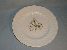 Spode Canadian Centennial 1967 Provincial Flowers Quebec White Garden Lily Plate