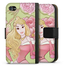 Apple iPhone 4 Tasche Hülle Flip Case - Beauty royal floral