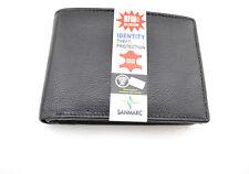 IDENTITY THEFT PROTECTION WALLET MEN'S CARD SLOT CHANGE POCKET