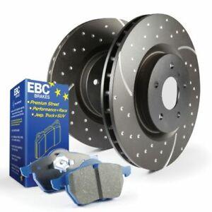 EBC S6KF1121 S6 Bluestuff & GD Disc Brake Pad Rotor Kit Front For Tundra NEW