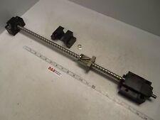 Ballscrew w/ End Blocks 550mm Length 13mm Pitch 15mm Screw Diameter 10mm Shaft