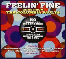 Feelin' Fine-Columbia 1954-61 2-CD NEW SEALED Chuck Berry/Chubby Checker/Shadows