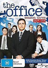 THE OFFICE (US) SEASON THREE (3) PART ONE - BRAND NEW & SEALED DVD STEVE CARRELL