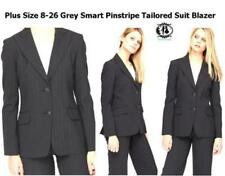 Polyester Pinstripe Plus Size Women's Suits & Tailoring