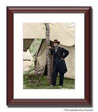 Gen Grant soldier Union Pres 11x14 Framed Photo Print Color Civil War -3a02668