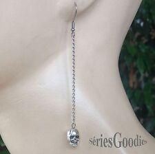 Bijou Gothique - boucles d'oreilles pendentif Crâne