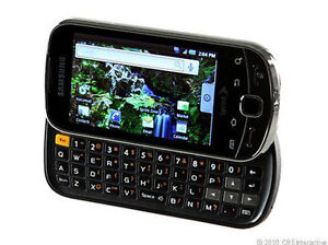 Sprint Samsung Intercept M910 Android GPS WiFi Touchscreen Steel *READ* for part