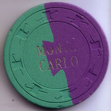 Monte Carlo -South Point, Nev. 1st Iss. 50¢ Purple and Green Dovetail R-9