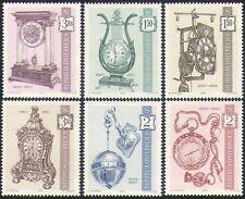 Austria 1970 Antique Clocks/Time Pieces/Musical Boxes/Art/Craft 6v set (n34430)
