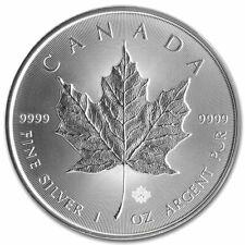 2014 1oz. Canadian $5 Silver Maple Leaf Coin