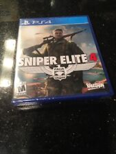 Sniper Elite 4  Italia PlayStation 4 (PS4) Brand Bew Factory Sealed