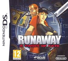 RUNAWAY A TWIST OF FATE NINTENDO DS