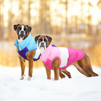 Dog Coats Winter Waterproof Large Small Pet Apparel Jacket Puffy Dog Clothes