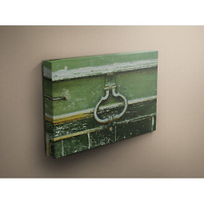 Antique Hardware 12x24 Canvas Gallery Wrap Wood Frame