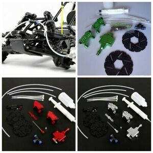 Front Wheel Hydraulic Brake System for 1/5 Scale HPI KM Baja 5B 5SC Rovan RC Car